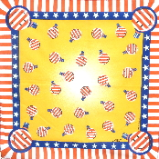 USA Light Bulb Bandanna