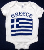 Greece Baby One-Piece