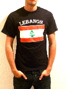 Lebanon T-Shirt - Black