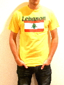 Lebanon T-Shirt - Yellow