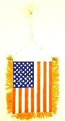 United States Of America USA Mini Banner