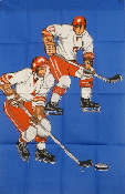 Hockey 2x3 Feet Flag