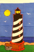 Lighthouse 2x3 Feet Flag