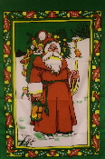 Santa Claus 2x3 Feet Flag