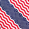 USA Stars and Stripes Bandanna